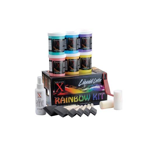 Brand X Liquid Latex - Rainbow Kit