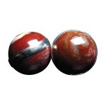 Cautiva Spheres - Red Jasper Ben Wa Balls