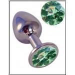 Crystal & Steel Pretty Plug