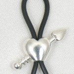Cupid Arrow Through Heart Nipple Ring Jewelry