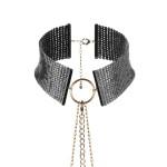 Desir Metallique - Metallic Mesh Black Collar