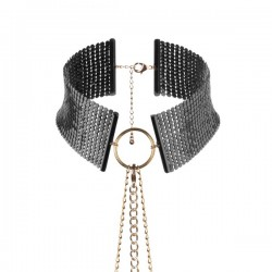 Desir Metallique - Metallic Mesh Black Collar