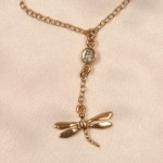 Dragonfly Gold Waist Chain