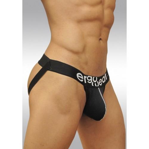 Ergowear Gym Jockstrap Black