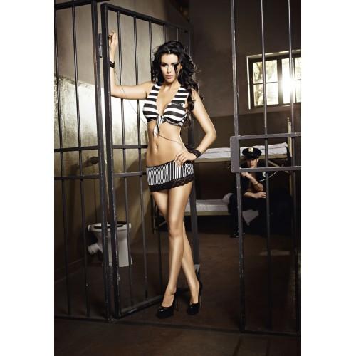 Female Prisoner Stripes Uniform