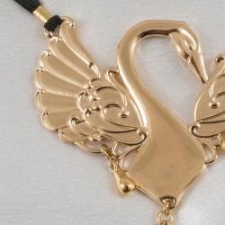 Gold Caressing Swan G-String