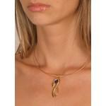 Gold Serpent Slide Choker Necklace