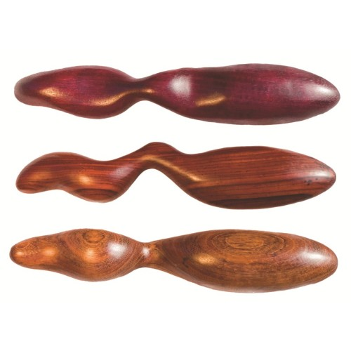 Intrigue G-Spot or Prostate Wood Dildo