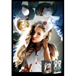 Naughty Nurse Coat and Hat