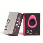 P.3 Silicone Cock Ring 38mm Black or Blue
