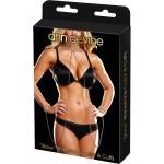 Rhinestone Slave Collar & Cuffs