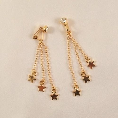 Stars & Crystal Gem Non Piercing Labia Jewelry