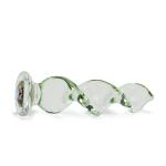 Swarovski Crystal Twist Colored Glass Dildo