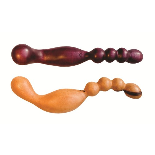 Tryst G-Spot or Prostate Wood Dildo
