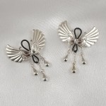 Wings of Desire Sterling Silver Non-Piercing Nipple Rings