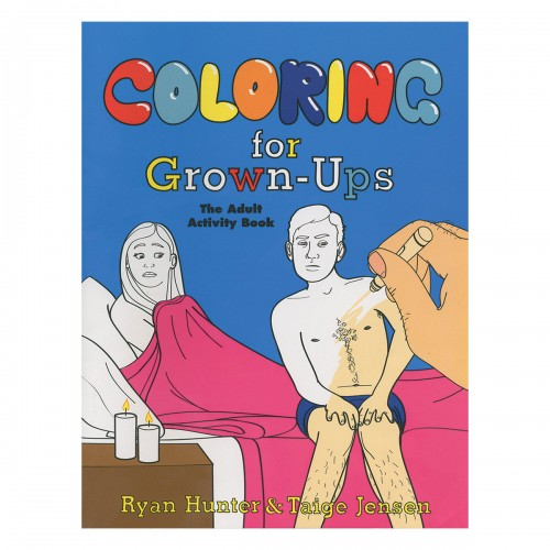 Coloring for Grown-Ups