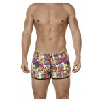 0687 Attractive Swim Trunks Color Yellow