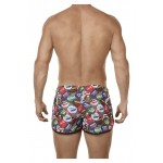 0688 Energy Swim Trunks Color Red