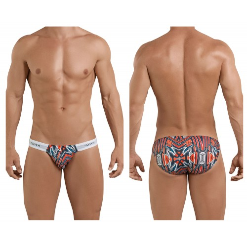 5019 Refined Briefs Color Red