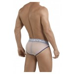 5024 Blunder Piping Briefs Color White