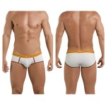 5394 Attractive Piping Briefs Color Beige