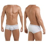 5399 Stunning Piping Briefs Color White