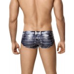 5200 Indigo Jean Latin Brief Color Blue