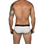 5317 Sweetness Piping Briefs Color White