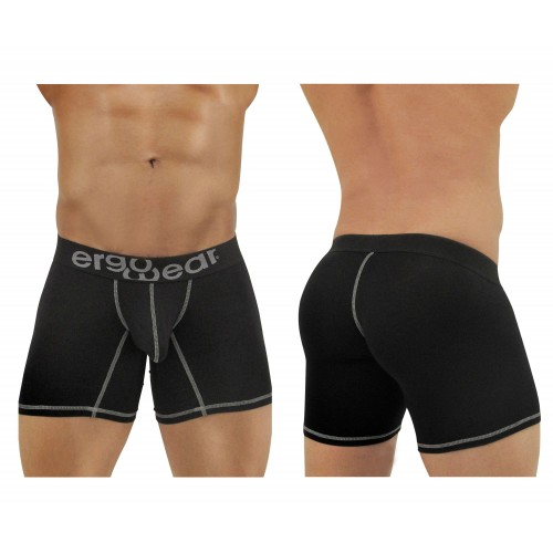 EW0120 MAX Light Boxer Briefs Color Black-Gray