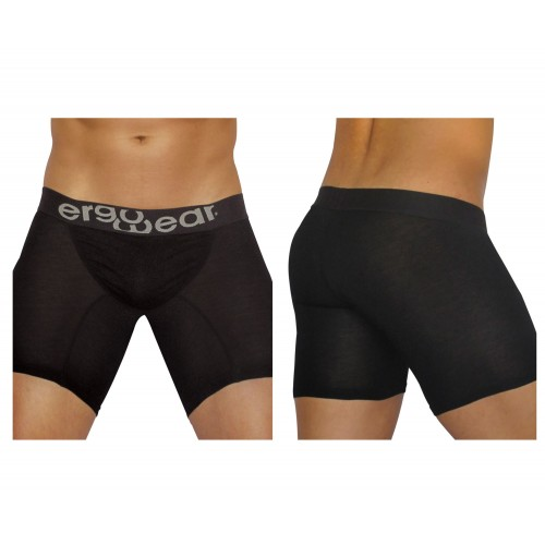 EW0711 FEEL Modal Long Boxer Briefs Color Black