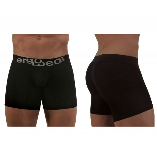EW0718 MAX Modal Midcut Boxer Briefs Color Black