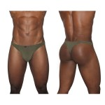 EW0813 X3D Modal Thong Color Olive