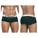 EW0927 FEEL Modal Boxer Briefs Color Pine Green