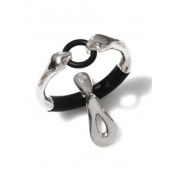 "JockRing Boa ""Debut"" Caprice Edition Silver Cock Ring"