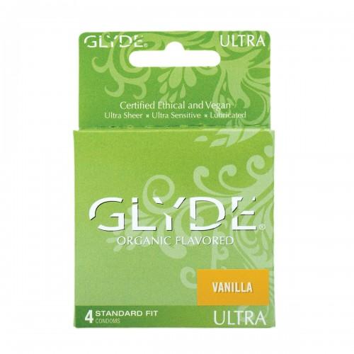 GLYDE ULTRA Organic Vanilla | 4 Pack