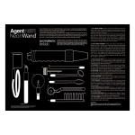 Kinklab Agent Noir Electro Erotic Neon Wand Kit