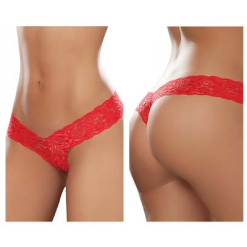 93 Sexy Lace Boyshort Color Red