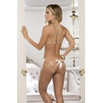 8134 Two Piece Lingerie Set Color Ivory
