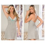 7104 Sleep Dress Color Gray