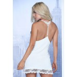 7114 Babydoll with Matching G-String Color Ivory