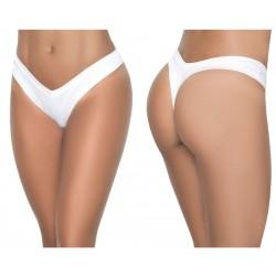 1096 High Leg Thong Color White
