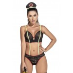 6378 Fire Woman Costume Outfit