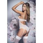 8355 Bridal Teddy Color White