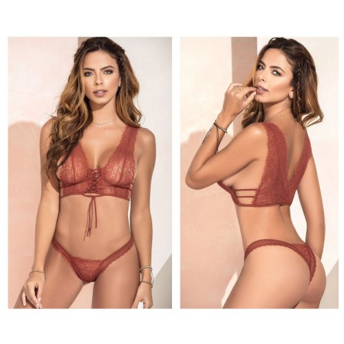 8366 Two Piece Set Color Terracotta