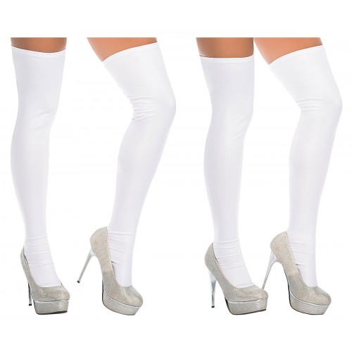 1017 Thigh Highs Color White