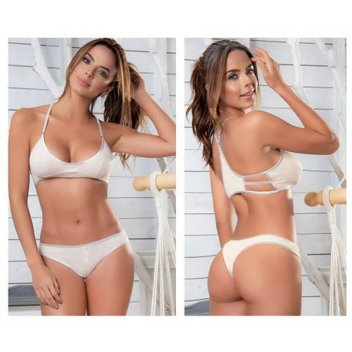 8406 Two Piece Set Color White