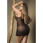 8429X Babydoll with Matching G-String Color Black