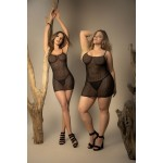 8429 Babydoll with Matching G-String Color Black