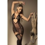8430 Babydoll with Garter Straps and Matching G-String Color Animal Print