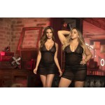 8440 Babydoll with Matching G-String Color Black